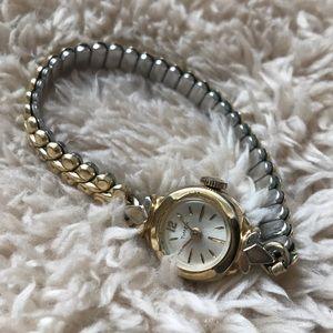 Vintage Timex Ladies Gold Watch